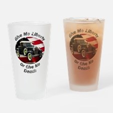 Ford Model A Drinking Glass