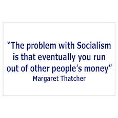 """""""Margaret Thatcher"""" Poster"""