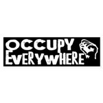 Occupy Everywhere bumper sticker