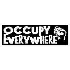 Occupy Everywhere bumper sticker
