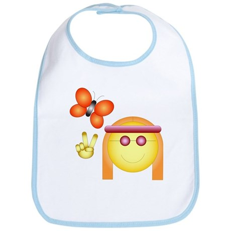 Hippie Chick Bib