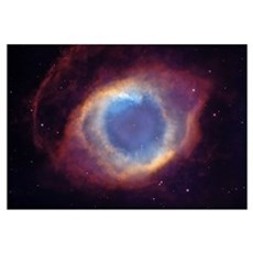 Eye of God Nebula Framed Print