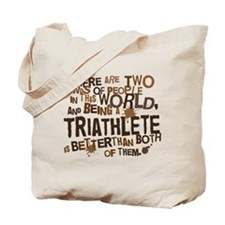 Triathlete (Funny) Gift Tote Bag