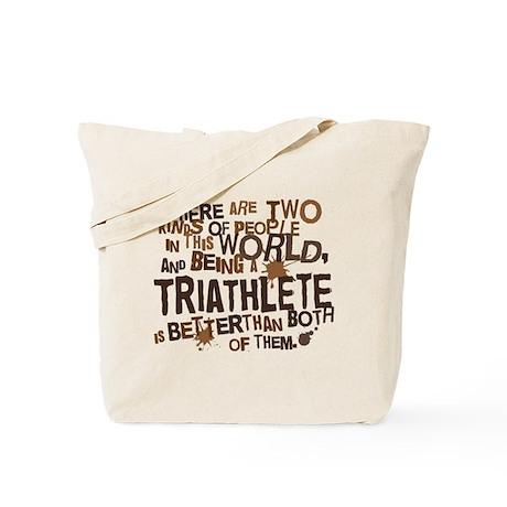 Triathlete (Funny) Gift Tote Bag