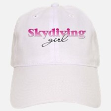 Skydiving girl Baseball Baseball Cap