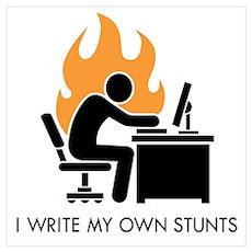 Write My Own Stunts Poster
