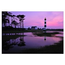 Bodie Lighthouse at First Light Framed Print