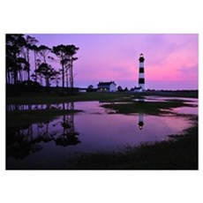 Bodie Lighthouse at First Light Poster