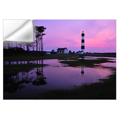 Bodie Lighthouse at First Light Wall Decal
