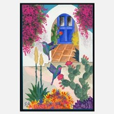 Unique Hummingbird painting Wall Art