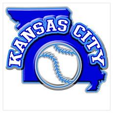 Kansas City Baseball Poster