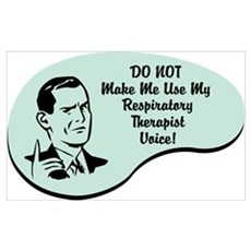 Respiratory Therapist Voice Framed Print