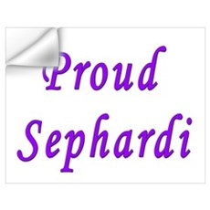 Proud Sephardi Wall Decal