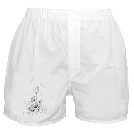 Dandelion drawing Boxer Shorts