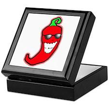 Cool Chili Pepper Keepsake Box