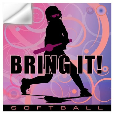 2011 Softball 101 Wall Decal