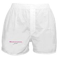 Motorcross girl Boxer Shorts