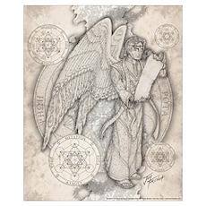 Archangel Metatron 16x20 Poster