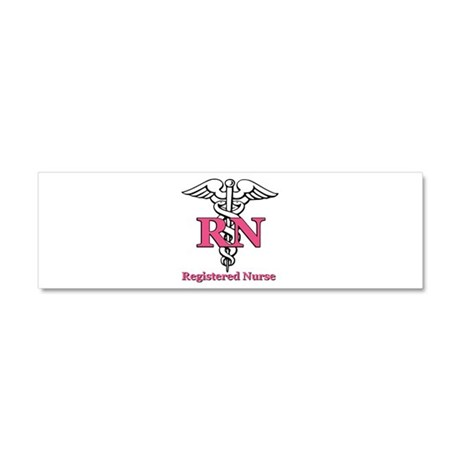 Registered Nurse Car Magnet 10 x 3