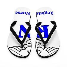 Registered Male Nurse Flip Flops