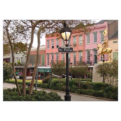 : New Orleans French Quarter Poster