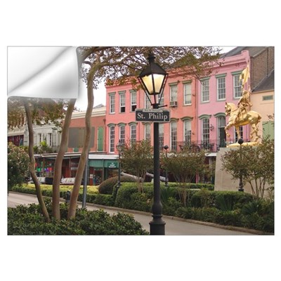 : New Orleans French Quarter Wall Decal