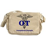 Occupational therapist Canvas Messenger Bags