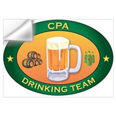 CPA Team Wall Decal