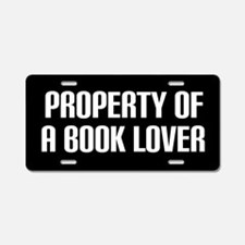 Book Lover Gift License Plate