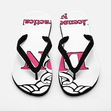 Licensed practical nurse Flip Flops