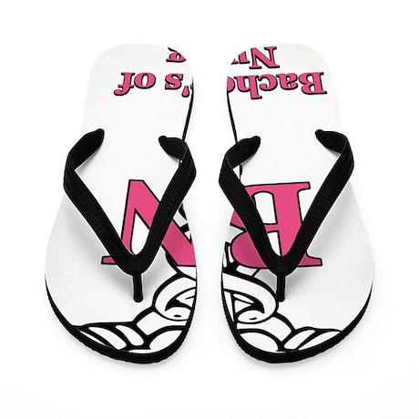 Bachelors of Nursing Flip Flops