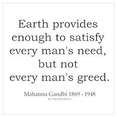 Mahatma Gandhi 8 Poster