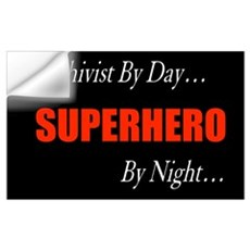 Superhero Archivist Wall Decal