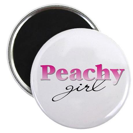 Peachy girl Magnet