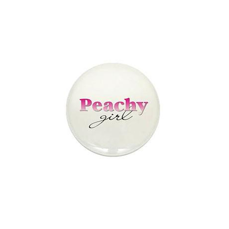 Peachy girl Mini Button