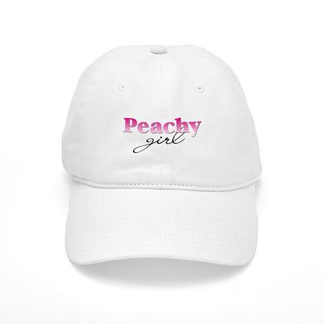 Peachy girl Cap