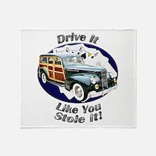 Packard Woodie Throw Blanket