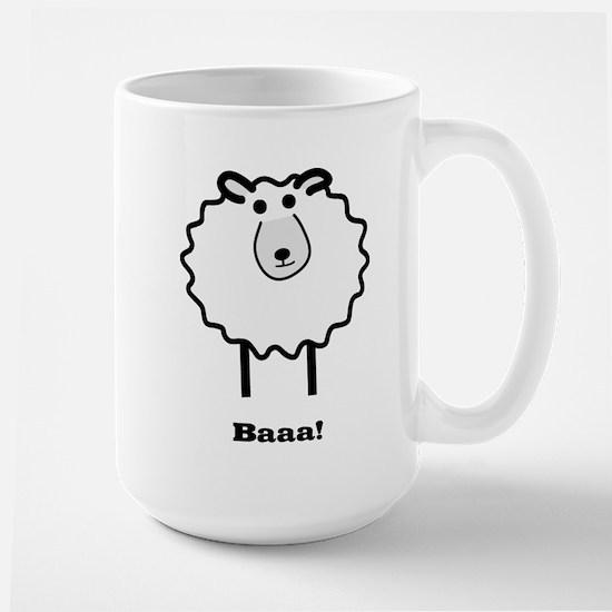 Sheep Large Mug