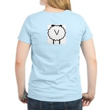 Sheep Women's Pink T-Shirt
