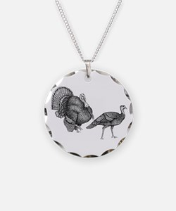 Turkey Drawing Necklace