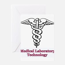 Cute Medical technologist Greeting Card