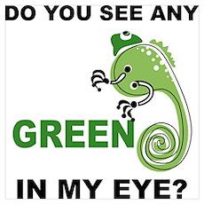 Green In My Eye Poster