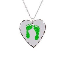 A Gastroschisis Hero is Born Necklace Heart Charm