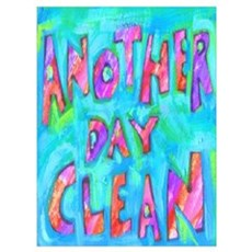 ANOTHER DAY CLEAN Canvas Art