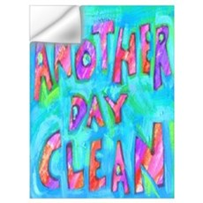 ANOTHER DAY CLEAN Wall Decal