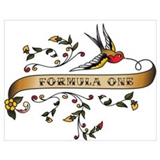 Formula One Scroll Poster