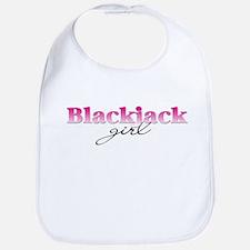 Blackjack girl Bib
