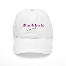 Blackjack girl Baseball Cap