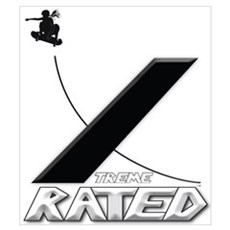 Xtreme Rated-Skater Girl Poster