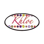 Khloe with Flowers Patches